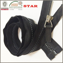 Zipper plástico para la venta al por mayor (# 5)
