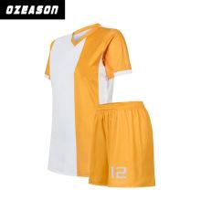 Crew Neck Heat Press High Quality Sportwear Soccer Jerseys Football Shirt