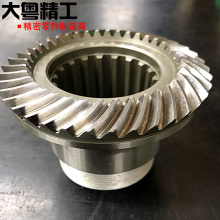Helical gear machining precision grinding teeth gear