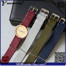 Yxl-102 Newest Perlon Strap Watch Band Wrist Watch Wristband Perlon Band Custom Design OEM Wholesale Men Women Watch Strap