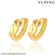 promotions special price élégant boucles d'oreilles en or 24 carats en gros