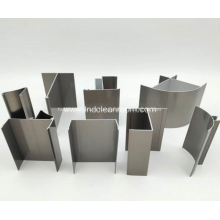 Aluminum profile for dust-free room