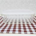 Fábrica de cerradura fácil al por mayor frascos de vidrio de sello al vacío