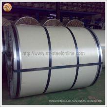 Wellpappe gebrauchte vorlackierte verzinkte Stahlspule
