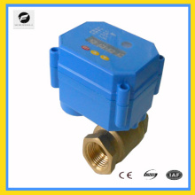 Válvula de bola eléctrica de tiempo CWX-15Q / N DC9-24V para jardín Equipos de riego, agua potable, calentadores de agua solares, washin