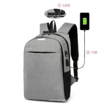 Business Laptop Bag Leisure Oxford USB Charging Computer Backpack Bag