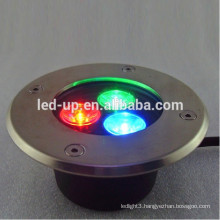 3w RGB led underground light with high lumens