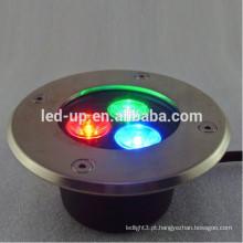 3w RGB conduziu a luz subterrânea com lúmens elevados