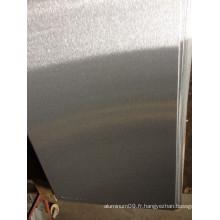 Feuilles en aluminium brossé 5052 pour panneaux