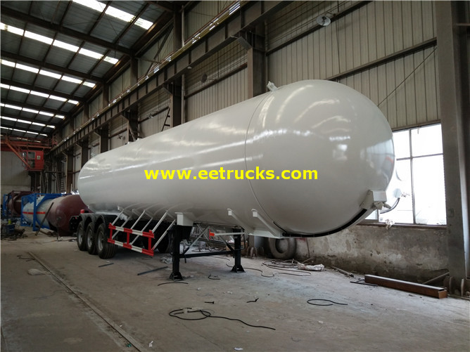 25 Ton Bulk Nh3 Semi Trailer Tanks