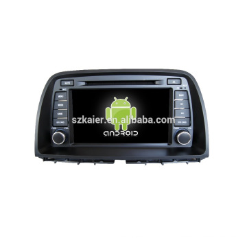 Quad core!car dvd with mirror link/DVR/TPMS/OBD2 for 8 inch touch screen quad core 4.4 Android system MAZDA CX-5 2013