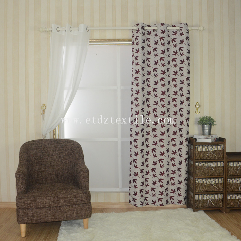 Competitive Soft  Curtain Fabric FR2141