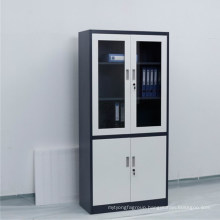 Office file storage steel with glass door filing cupboard