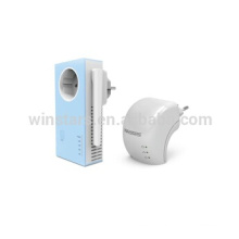 PowerLine AV 500 Wireless N Kit , 500Mbps wifi powerline adapter,N300 wifi extender with antennal