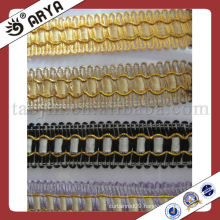 polyester yarn curtain fringe lace trims