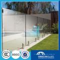 Mesa de centro de vidrio templado de 10 mm