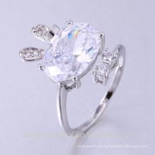 anillo de bodas de zirconia cúbico de alta calidad para los deportes con la mejor calidad y el precio bajo