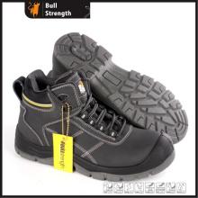 945 modelo série PU/PU Outsole tornozelo segurança sapato de couro (SN5481)