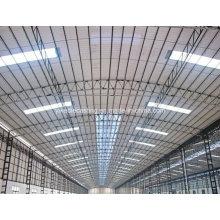 Feuilles de toiture ondulées en plastique transparent pour puits de lumière
