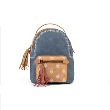 Totem Embroidered Fringe Decorative Backpack