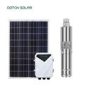 Mini bomba de água solar 12V DC com controlador automático