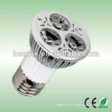 Projecteur LED Spotlight E27 3W