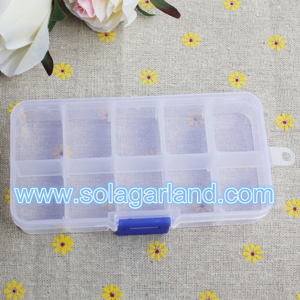 plastic box clear