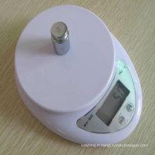 Echelle de cuisine électronique numérique 5kg / 1g B05