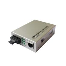 Fibra Única / Fibra Dupla Modo Único / Multi Modo 100m Conversor de Mídia