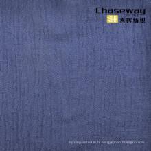 55% Linge de lit 45% Coton Tissu de crêpes Lin Tissu de mélange de coton