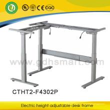 Marco moderno del escritorio ejecutivo ajustable de la altura del escritorio de los muebles de oficina para la estación de trabajo sana