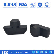 Custom shap type 55 duro EPDM Rubber hole cover
