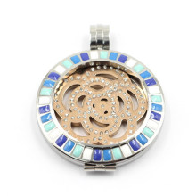 Nickel Free 316L Stainless Steel Floating Locket for Necklace Pendant