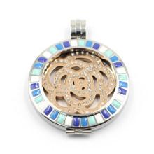 Никель бесплатно 316L из нержавеющей стали плавающей ожерелье для ожерелья подвеска