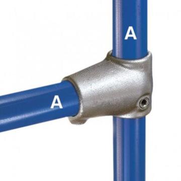 亜鉛めっきされたキークランプパイプ継手を接続するテーブル