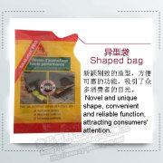 Bolsa de empaque de forma libre para jugo de frutas