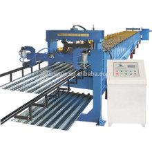Laminado de piso de acero compuesto laminado que forma la máquina