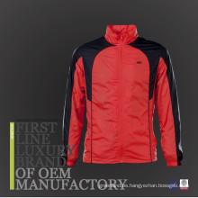 2017 Nueva chaqueta de nylon de los hombres al aire libre de la tela del diseño impermeabiliza la chaqueta