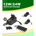 Multi-Voltage (3V-12V) AC / DC Transformer Adapter