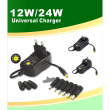 12W Universal AC Wall Power Adapter