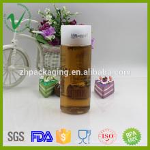 Garrafa de garrafas de PET garrafa vazia garrafa de plástico de 350 ml com tampa
