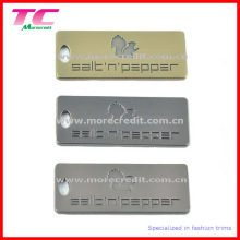 High Quality Branded Logo Metal Tags/Plaque