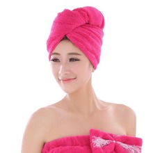 microfibre dry hair towels with button