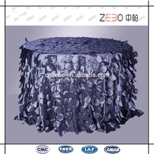 Comercio Aseguramiento de la oferta Moda Estilo Decoración Fancy Table Cover para Bodas