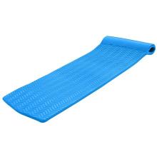 custom logo heavy duty NBR foam floating water raft ripple swimming pool water carpet floating mat