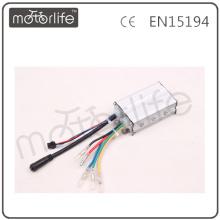 Controlador MOTORLIFE CE pass 36v 6mosfet con cables a media agua para kit de bicicleta eléctrica