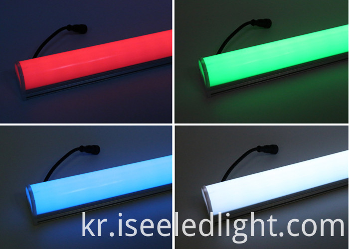 rgb full color led linear tube