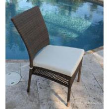 Chaise d'exposition en aluminium durable et de luxe facile à nettoyer