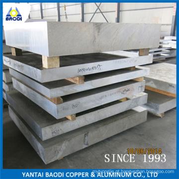 Folhas de Alumínio e Placa cortadas em tamanho, material de ferramental 6061t6, 6082-T6