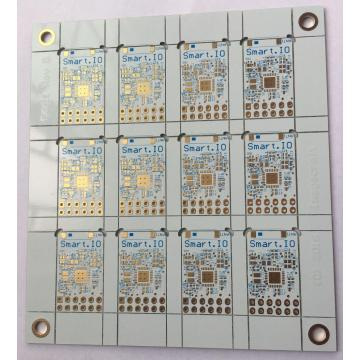 4 couches FR4 0.6mm blanc soudure EING PCB